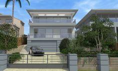 Home Design Architects ✦ All Australian Architecture 3d Home Design, House Design Photos, New Home Designs, Cool House Designs, Interior Design, Hamptons Style Homes, Australian Architecture, Beach House Decor, Beach Houses