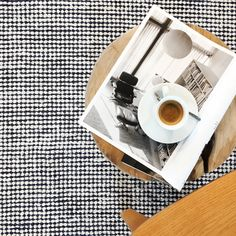 Pipoca recycled textile rug – Plum & Belle Modern Crafts, But First Coffee, Hard Floor, Bath Caddy, Industrial Style, Recycling, Textiles, Traditional, Rugs