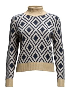 493255a8bc3 DAY - Day EbonyContrast accents Metallic accents Patterned design Ribbed  collar, cuffs and hemline Turtleneck Excellent quality and fit Feminine  Detail down ...
