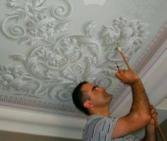 .painted ceiling...a masterpiece in your own ceiling!!!