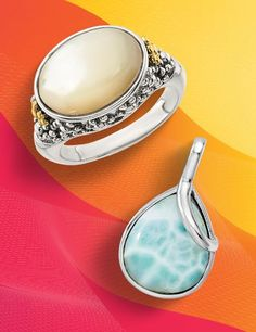 Summer's here, so now is the perfect time to connect with your nature-loving customers who want to look their best when they're in the great outdoors! #QualityGold #jewelry #SummerFashion #Fashion #GreatOutdoors #SummerFun #MotherOfPearlRing #SterlingSilver #LarimarPendant #Marketing #JewelryBusiness