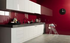 Splashback Metaline Rubicon Perle. Styling Wendy Bannister. Photography Earl Carter.