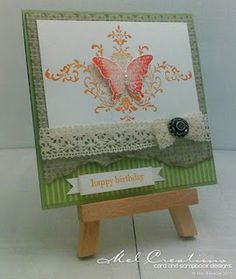 "♥ the ""Bliss"" stamp set from Stampin' Up! SAB 2011"