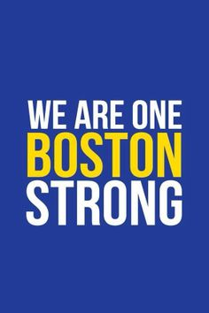Congrats to all the marathon runners! So proud and every single one of you and our amazing Boston!! #BostonStrong