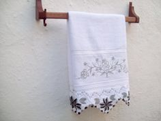 New Handmade Crocheted Kitchen Towel by colorfuldesings on Etsy