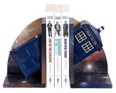 Doctor Who TARDIS Bookends Set of 2