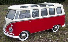 The pedal car museum VW Bus