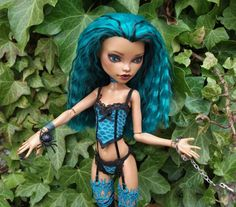 Monster High Nefera Doll OOAK Outfit Rebel Yell by by PitstopPippa