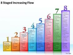 1013 Business Ppt diagram 8 Staged Increasing Flow Powerpoint Template
