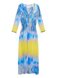 Paisley-print silk-chiffon kaftan | Etro | MATCHESFASHION.COM US