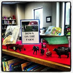 farm books for our youngest patrons! by milfordlibrary51351, via flickr