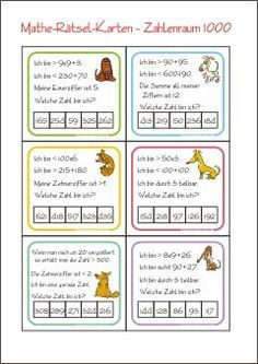 310 best Mathe images on Pinterest in 2018 | Learning, Preschool and ...