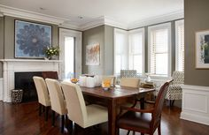 Private Residence | Lawrence Group #interiordesign #design #diningroom