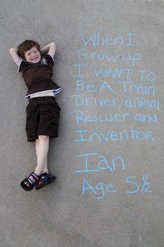 Growing kid + Cool Pinterest ideas = fun photographic memories! by ila
