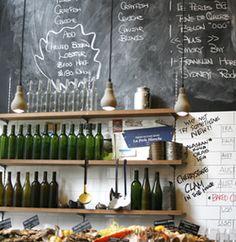Chalk board in kitchen!! ( recipe, grocery lists, art, inspiration! )