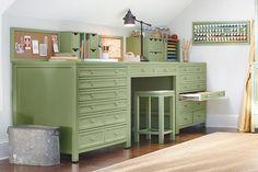 Martha Stewart Craft Table Grey