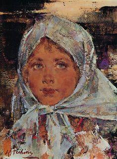 Nicolai Fechin (1881 – 1955, Russian) Fechin Nicolai