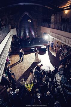Berekely Church - first dance shot Downtown Toronto, First Dance, Big Picture, Wedding Stuff, Bliss, Backdrops, Wedding Venues, Personal Style, Wedding Decorations