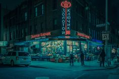 Little Odessa Series by Franck Bohbot  In his latest series entitled Little Odessa photographer Franck Bohbot takes us in the Brighton Beach district also called Little Odessa located in Brooklyn in the south of New York. With his particular look and grain artist offers a journey in the streets when the sun still enlighten the city or under the neon lights when the night falls. A poetic walk to discover.               #xemtvhay