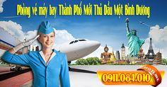 Phòng vé máy bay Thành Phố Mới Thủ Dầu Một Bình Dương