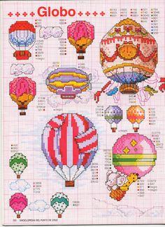 Gallery.ru / ENCICLOPEDIA ITALIANA 3 Фото #133 {hotair balloon cross stitch pattern}