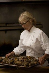 Lilly's chef-owner, Kathy Cary.