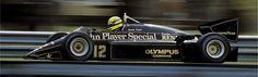 Ayrton Senna-Lotus Renault