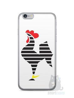 Capa Iphone 6/S Time Atlético Mineiro Galo #2 - SmartCases - Acessórios para celulares e tablets :)