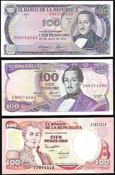 !!!LOS TRES ULTIMOS BILLETES DE 100 PESOS!!!