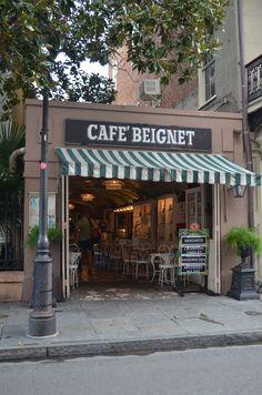 Cafe Beignet in New Orleans