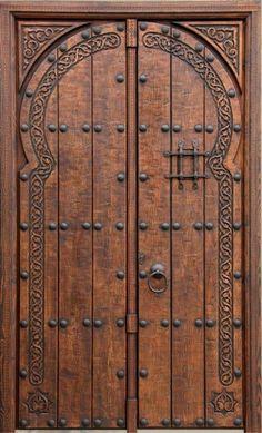 Resultado de imagen para puertas de entrada principal for Puertas principales de madera rusticas