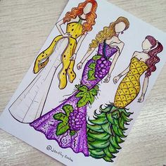 Repinning for the pineapple dress that Sara needs to make asap