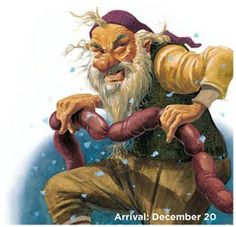 Iceland Chritmas Troll arrives Sausage Swiper - he hides in rafters and pilfers pork. Days Before Christmas, Merry Christmas, Primitive Christmas, Troll, Pagan Yule, Gnome, Iceland Travel, Large Animals, Christmas Traditions