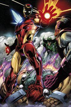 Marvel Comic Universe, Marvel Comics Art, Marvel Heroes, Marvel Characters, Comic Books Art, Comic Art, Avengers, Iron Man Captain America, Comic Book Collection