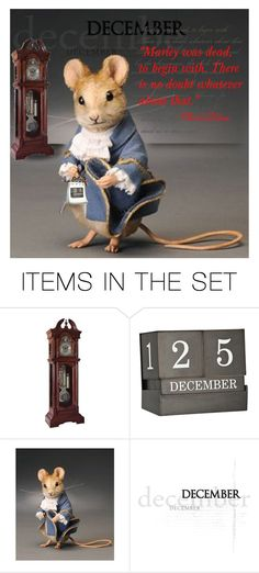 """""""A Christmas Carol"""" by kleasterling ❤ liked on Polyvore featuring art"""