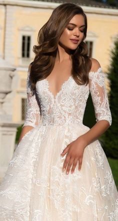Wedding Dress by Milla Nova White Desire 2017 Bridal Collection - Angelina 2