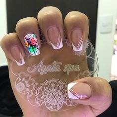 Crazy Nails, Dope Nails, Pink Nails, Gel Nails, Magic Nails, Vernis Semi Permanent, Beautiful Nail Designs, Square Nails, Nail Decorations