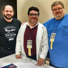 Darin Bush, Dr. Scott Viguie, & Bobby Nash talk #IndianaJones on the 'It's Not The Years, It's The Mileage: 35 Years Of Indy's panel at #timegate2016 #Convention #Indy #TimeGate #DoctorWho #HarrisonFord