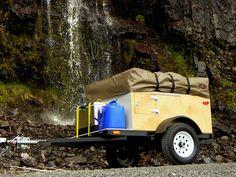 DIY Explorer Box Camping Trailer, Compact Camping Concepts, LLC™, compactcampingconcepts.com