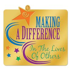 Making A Difference In The Lives Of Others Lapel Pin With Presentation ...