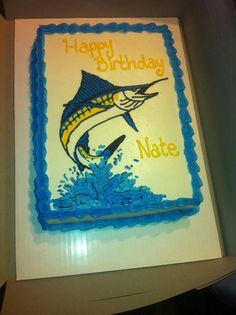 marlin cakes Google Search Michaels Birthday Pinterest Cake