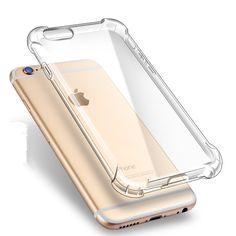 Anti-Crack Shockproof iPhone 7 Transparent Soft Case Cool Iphone 7 Cases, Covers Iphone, Iphone 6 Plus Case, Iphone 8 Cases, Iphone 6s Gold Case, Phone Cover, Iphone 5s, Coque Iphone, Apple Iphone 6