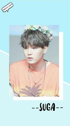 #suga #bts #yoongi #minyoongi #pastel #blue #babyblue #cute