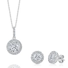 Smart Value® Lab-Created White Sapphire Gift Set in Sterling Silver by @Helzberg Diamonds Diamonds Diamonds Diamonds Diamonds #earrings #necklace #jewelry #aislestyle Enter the Aisle Style Sweeps for a chance to win up to $3,000 in gift certificates from David's Bridal & Helzberg Diamonds! Enter now thru 9/2: http://sweeps.piqora.com/aislestyle Rules: http://sweeps.piqora.com/contests/contest/content/davidsbridal.com/310/rules