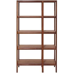 Matthew Hilton Trieste High Shelves (234,220 DOP) ❤ liked on Polyvore featuring home, furniture, storage & shelves, bookcases, shelf systems, shelf furniture, shelves bookcases, shelves furniture and shelving unit