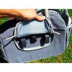 Basil Elements Shoulder Bag Faded Blue 70