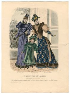 1891-1892, Plate 015 :: Costume Institute Fashion Plates