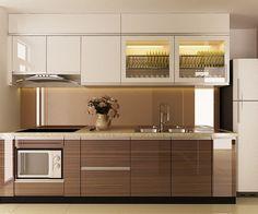 Tủ bếp Laminate bền đẹp giá rẻ Mẫu tủ bếp Laminate bền đẹp giá rẻ thích hợp cho mọi thiết kế không gian nhà bếp, độ bền cao, nhiều công năng sử dụng, tăng thêm vẻ đẹp sang trọng cho căn bếp tiện nghi hiện đại. Đây là thiết kế tủ bếp đang rất được ưa chuộng trên thị trường.