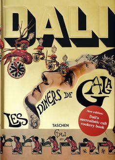 Réedition du livre de cuisine de Salvador Dali Les Diners de Gala  2Tout2Rien