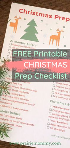 Stay on top of things this holiday season with a free printable Christmas prep checklist. #Christmas #winter #checklist Free Christmas Printables, Free Printables, Christmas Checklist, Christmas House Lights, Fake Trees, Going On Holiday, Christmas Makes, Holiday Parties, Real Life